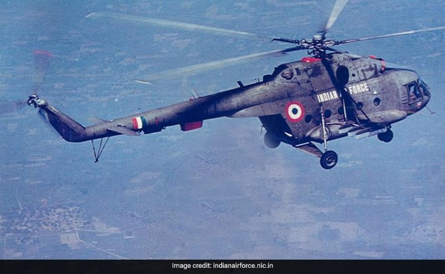 Indian Air Force's Helicopter Crash Highlights: 7 Military Personnel Dead