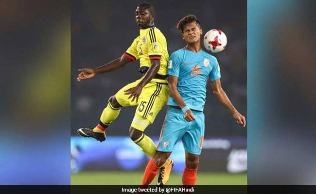 FIFA U17 वर्ल्डकप:  भारतीय टीम के कप्तान अमरजीत के चचेरे भाई हैं कोलंबिया के खिलाफ गोल दागने वाले जैकसन