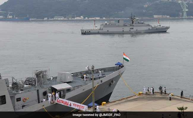 Two Indian Ships In Japan For Naval Exercise