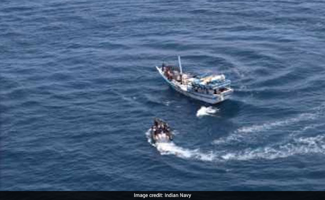 Navy Thwarts Piracy Attempt on Indian Ship in Gulf of Aden