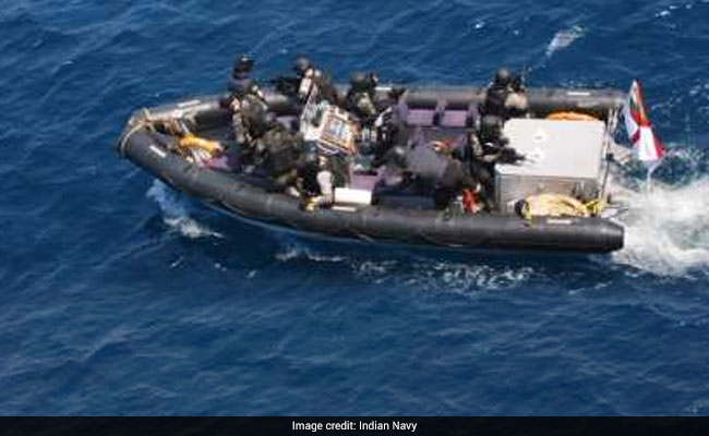 Indian bulk carrier rescued from pirates by Indian Navy. Well, maybe