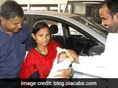 Woman Delivers In Ola Cab Enroute To Hospital, Gets Free Rides For 5 Years