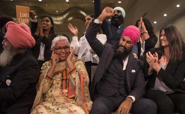 'Run For PM Begins Now': Sikh Man First Non-White To Lead Party In Canada