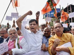 BJP Takes Out March Against Killing Of Its Workers In Kerala
