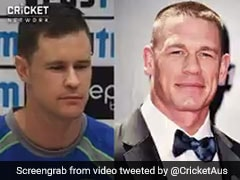 India vs Australia: Watch How Jason Behrendorff Bursts Out Laughing When Compared To John Cena