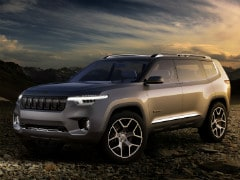 Jeep Working On An SUV With Three Rows; Patent Drawings Reveal
