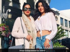 Did Jhanvi Kapoor Ask Sridevi To Intervene For Debut Film With Karan Johar?