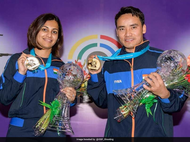 ISSF World Cup Final: Jitu Rai, Heena Sidhu Win Gold In Air Pistol Mixed Team Event