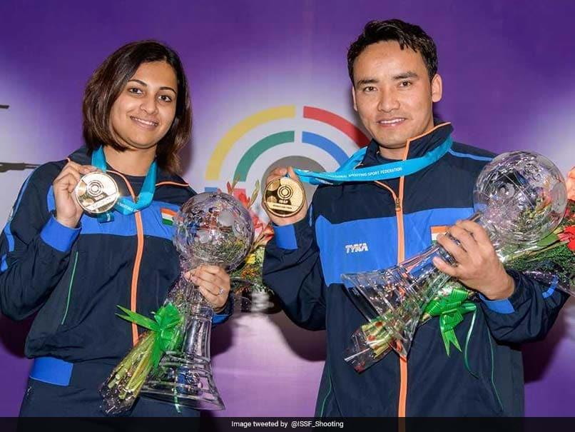 ISSF World Cup Final: Jitu Rai, Heena Sidhu Win Gold In Air Pistol Mixed Team Event