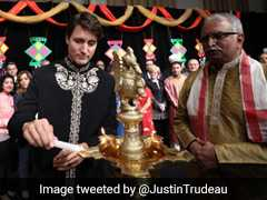 Diwali Greetings From Canada's Justin Trudeau, Wearing A <i>Sherwani</i>