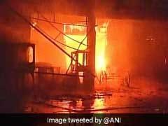 50 Shops Down After Fire Broke Out In New Delhi's Kamla Market