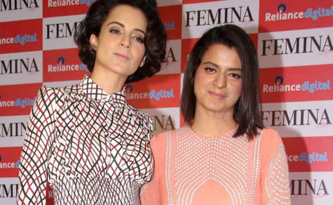 Kangana Ranaut Is 'The Chosen One,' Says Sister In Tweets To Farhan Akhtar, Sonam Kapoor, Karan Johar
