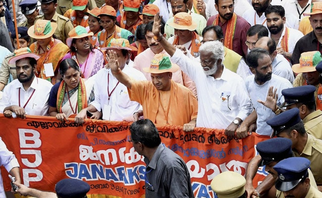 For Kerala Foot March, BJP Calls In The Cavalry From Centre, States