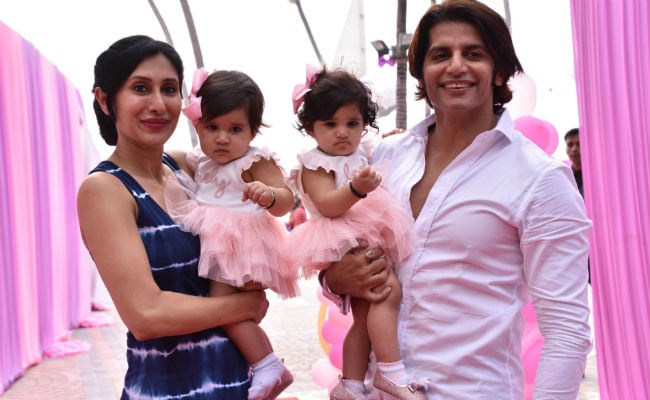 All Things Nice From Karanvir Bohra, Teejay Sidhu's Twins' First Birthday
