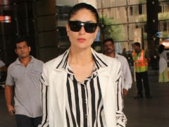 Kareena Kapoor And Baby Taimur Return Home For Diwali. See Pics