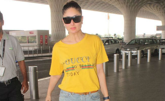 Kareena Kapoor, Frequent Flyer, Spotted At The Airport Again