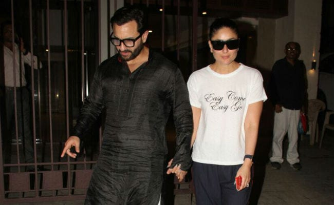Spotted: Kareena Kapoor, Saif Ali Khan At Soha's House On Wedding Anniversary