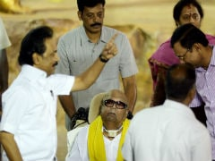 After A Year, DMK Chief M Karunanidhi Makes A Public Appearance