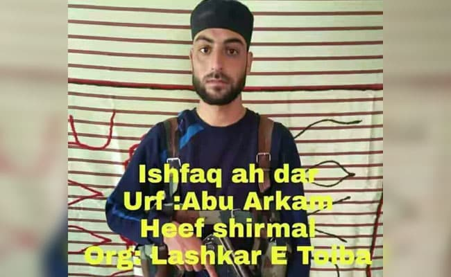 Shopian cop who went missing joins Lashkar-e-Toiba