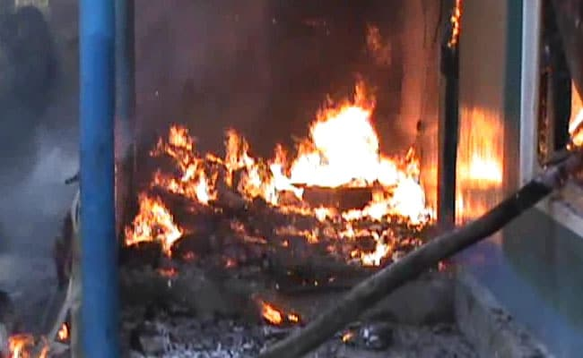 Day After Murder Of Sarpanch In Kashmir, Mob Sets His House On Fire