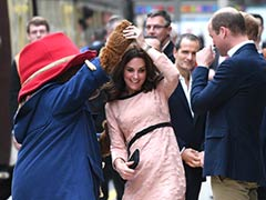 Kate Middleton's Impromptu Twirl With Paddington Bear. You're Welcome