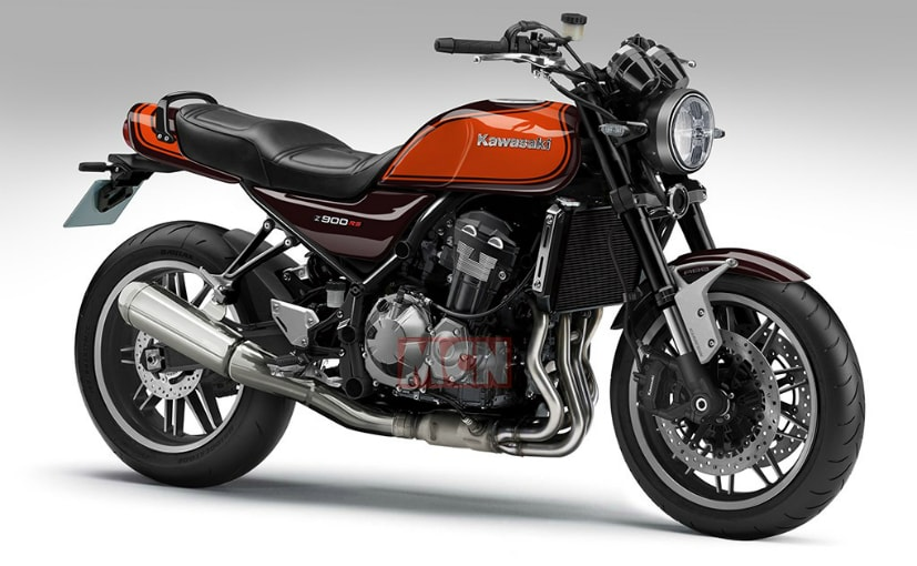 The retro-styled Kawasaki Z900RS is based on the Kawasaki Z900