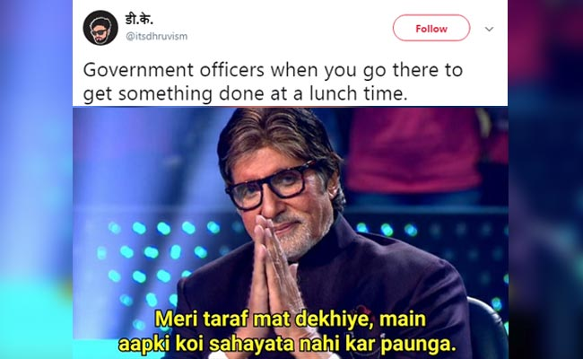The Top 10 Funniest Amitabh Bachchan-KBC Memes On The Internet Right Now