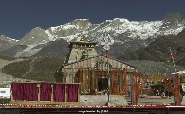 In Kedarnath, PM harks back to deluge