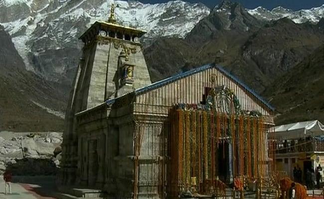 श्रद्धालुओं के लिए 29 अप्रैल को खुलेंगे केदारनाथ मंदिर के कपाट