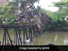 1 Dead, At Least 57 Injured After Bridge Collapses In Kerala's Chavara