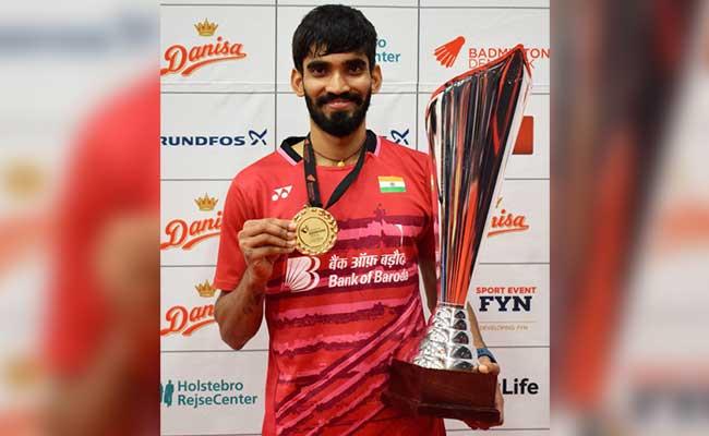 डेनमार्क ओपन में भारत के किदांबी श्रीकांत चैंपियन, फाइनल में कोरिया के ली ह्यून को हराया