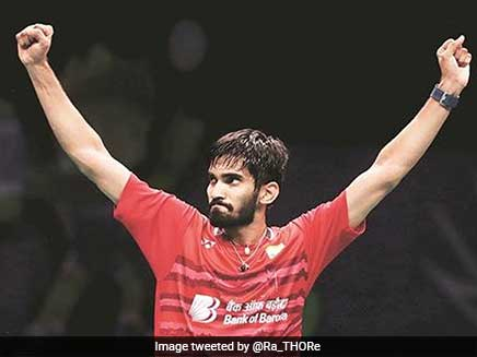 Kidambi Srikanth Climbs To Fourth Spot In BWF Rankings After Denmark Open Triumph