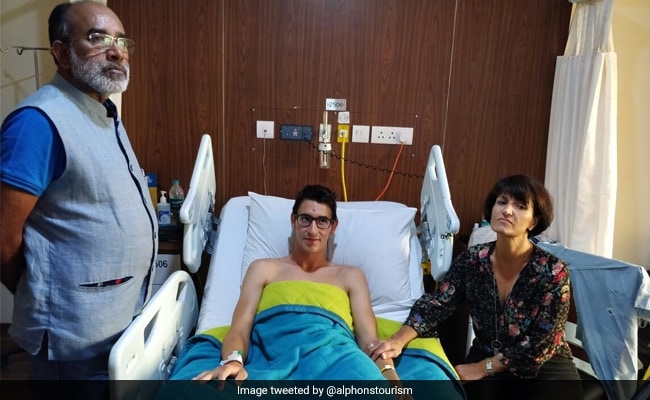 Attention Twitter. UP Cop's Message After Attack On Swiss Couple