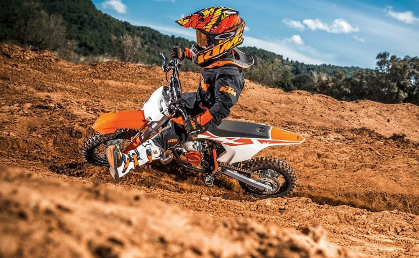 KTM Announce Electric Motocross Bike E-Mini - NDTV CarAndBike