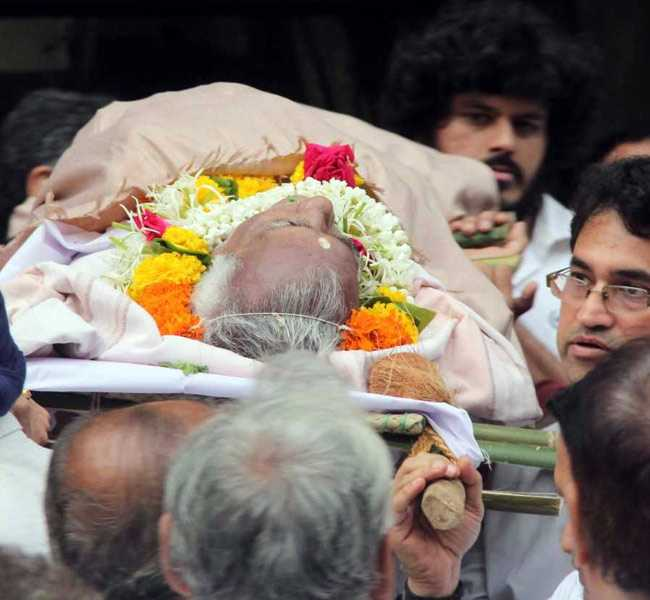 kundan shah funeral