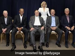 Lady Gaga And Five Former US Presidents Come Together. All For Charity