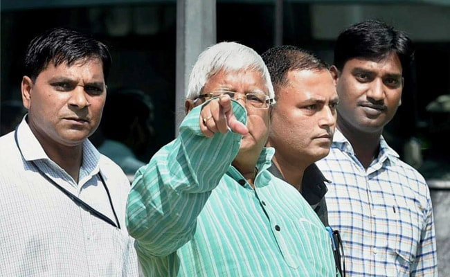 Lalu Yadav Questioned For 7 Hours By CBI In Hotels-For-Land Scam