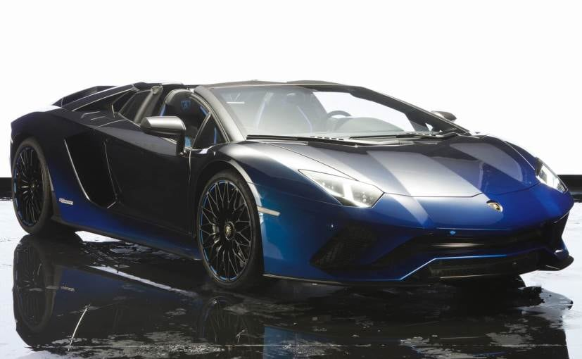 Lamborghini celebrates 50 years in Japan with special Aventador S
