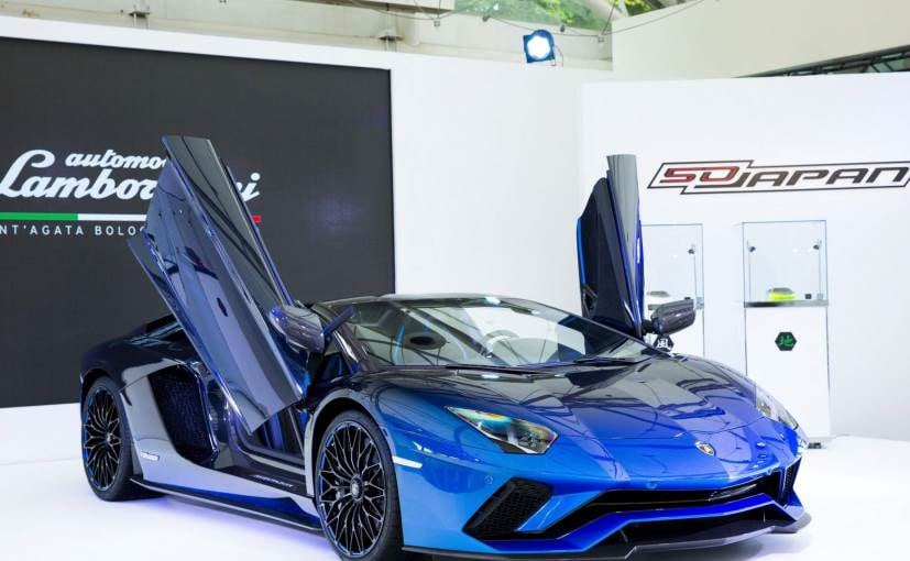One-of-five Lamborghini Aventador S Roadster revealed