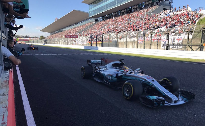 F1 2017: Hamilton Beats Verstappen To Win Japanese GP