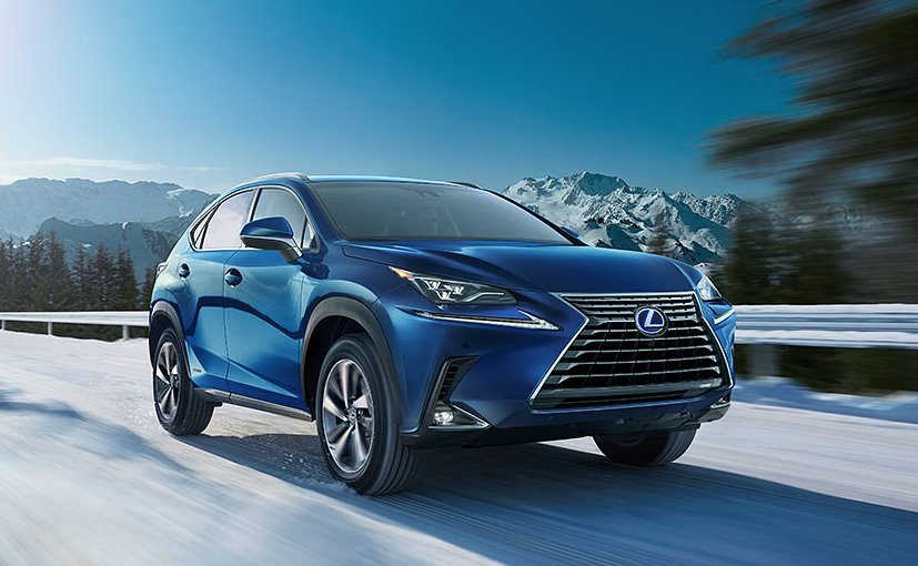 lexus nx 300h hybrid suv india showcase: highlights - ndtv carandbike