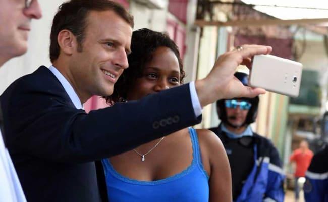 'I Still Have A Nose': French President Emmanuel Macron Sniffs Marijuana