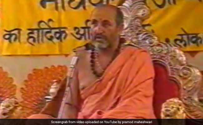 Sanskrit Scholar Shankaracharya Madhavashram Maharaj Dies At 76