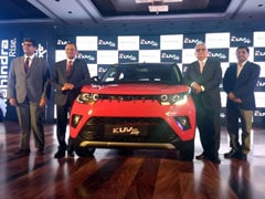 Mahindra KUV100 NXT Launched In India; Price Starts At Rs. 4.39 Lakh