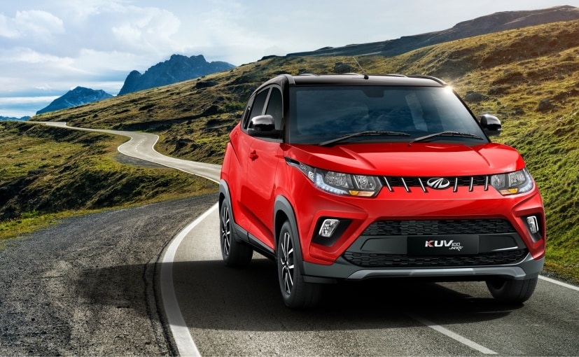 Mahindra only offers a petrol engine on the KUV100 at present