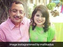 """Not My Battle..."": Mallika Dua On #MeToo Claim Against Father Vinod Dua"