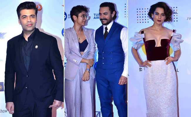 MAMI में 'बेटियों' के साथ दिखे आमिर खान, कंगना रनोट और करण जौहर की Grand Entry