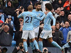 Manchester United Slip Lets Sergio Aguero Send Manchester City Clear