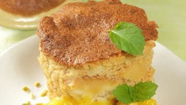 Watch: East Meets West In This No-Bake Mango Souffle Recipe