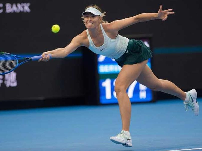 Tianjin Open: Maria Sharapova Reaches First Final Since Drugs Ban